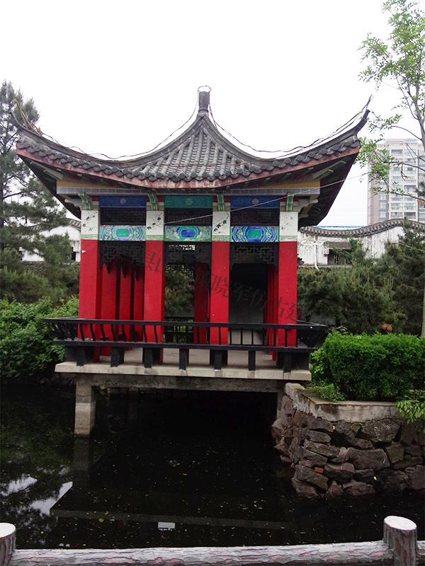 六安舒城县飞霞公园